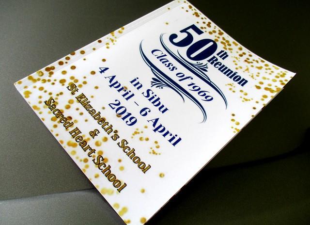 Souvenir booklet