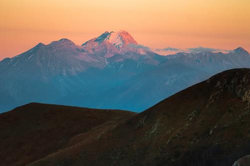 70d appennini autunno canon fall italia italy lazio montagna mountains rieti sunset terminillo canonef70200mmf4lusm abruzzo gran sasso