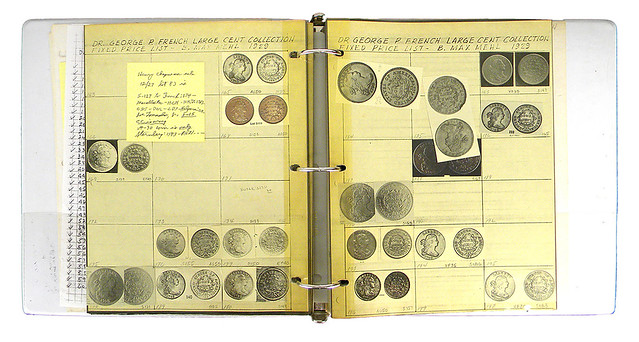 Bland Archive of Large Cent collection inventories