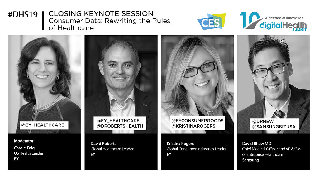 41 - 430 PM CLOSING KEYNOTE Consumer Data Rewriting the Rules of Healthcare