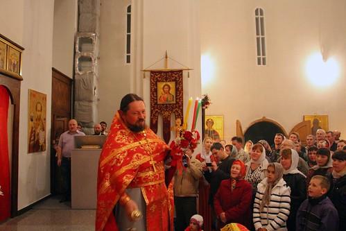 Пасхальное Богослужение в Свято-Никольском храме станицы Кавказской IMG_1327