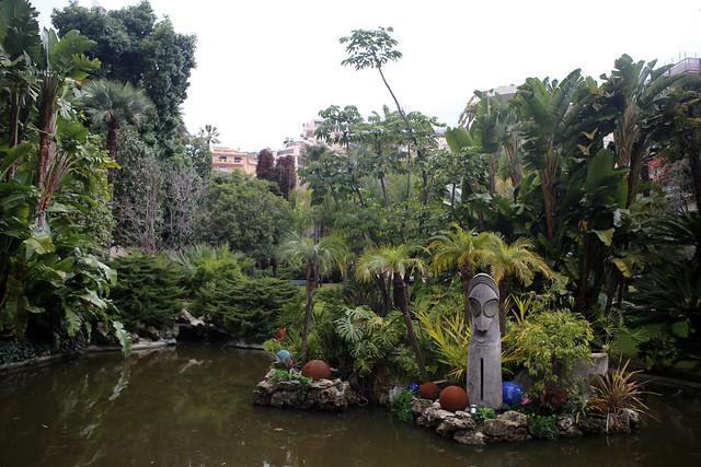 Gardens by the casino at Monaco
