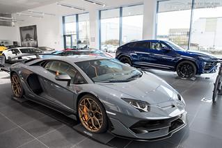Lamborghini Aventador Svj Annee Du Modele Presente 2018 Flickr
