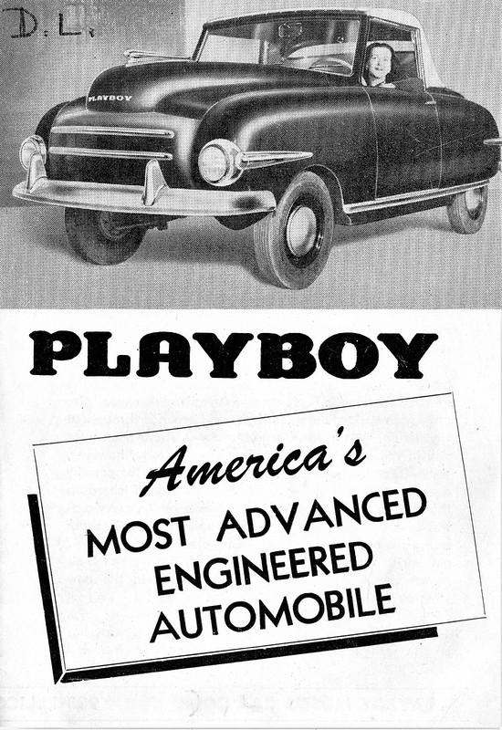 1947 Playboy Brochure
