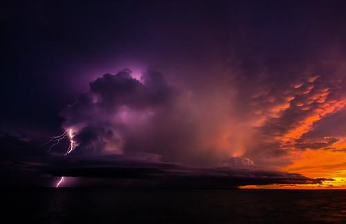 Storm @ Sunset   by Markus Branse