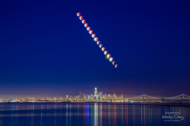 Lunar Eclipse Flashback: San Francisco on January 31, 2018