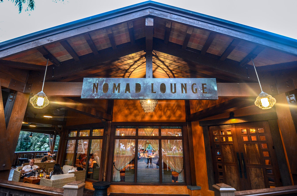 Nomad Lounge outside AK