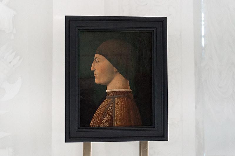 Портрет Сиджизмондо Пандольфо Малатеста. Ок. 1450-1451. Лувр, Париж