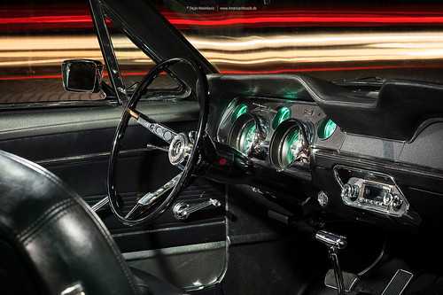 grey 1967 Ford Mustang Coupe - Shot 4 - Interior   by Dejan Marinkovic Photography