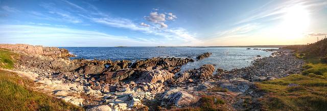Pre-cambrian Coastline