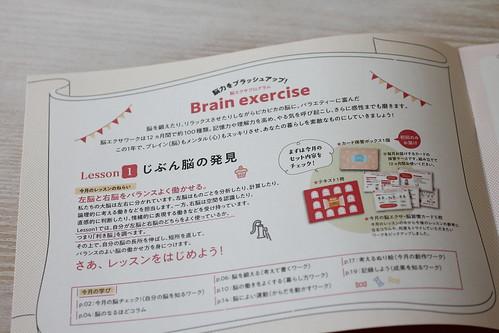 フェリシモ・ミニツクの脳エクサプログラム初回トライアルの感想
