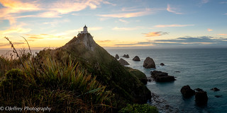 Nugget Point Lighthouse Sunrise | by OJeffrey Photography