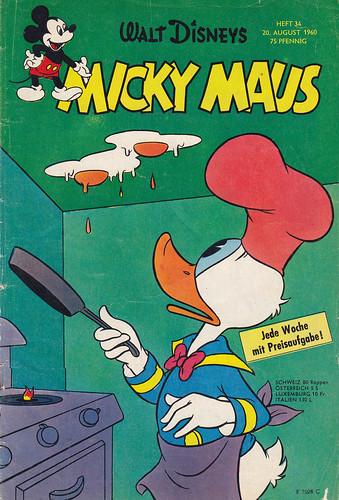 micky maus 341960  micky maus  heftreihe copyright
