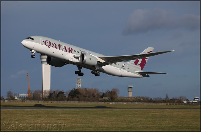 A7-BCY Boeing 787-8 Qatar Airways