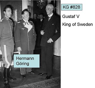 KG828 Gustaf V King of Sweden with Hermann Goring | by arthur.strathearn