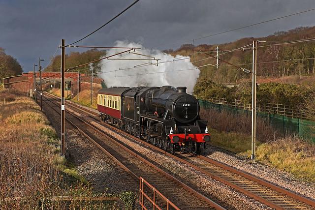 Black Five in Lancashire