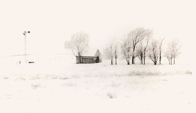 440 - North of Loomis - Lith Print
