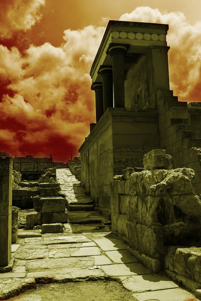 Creta y lo dramatico