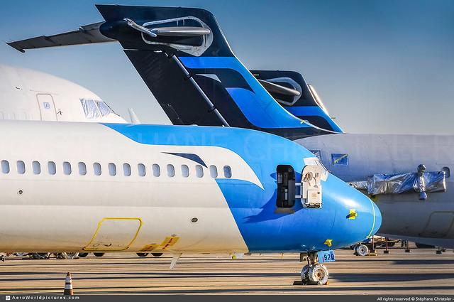 [VCV.2012] #MexicanaClick #QA #McDonnell.Douglas #MD95 #Boeing #B717 #N920ME #awp