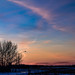 End of winter sunset by darletts56