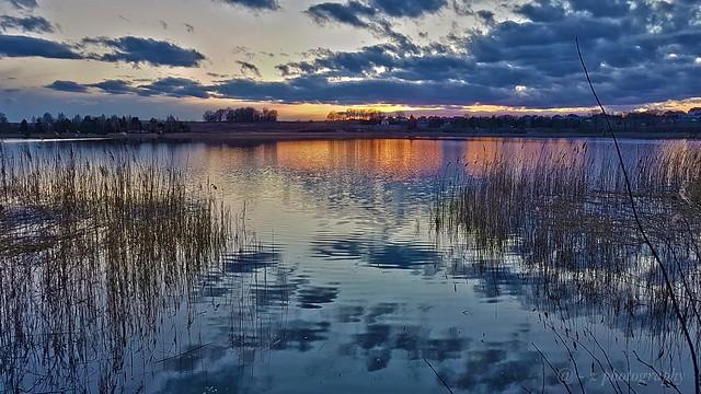Poland Olsztyn. Lake Bartag.