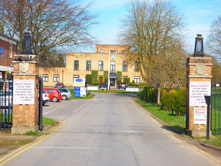 The entrance to RAF Hemswell | by mjovery