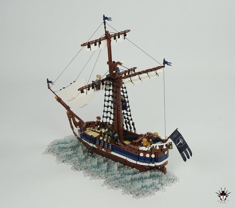 Numenorean sailship Eämbar - stern