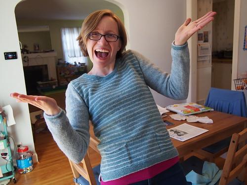 Yay, sweater!