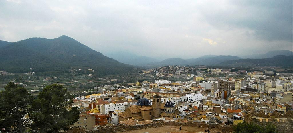 Vistas Desde El Castillo De Onda Castellon De La Plana Flickr