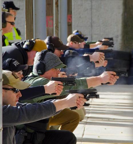 SPD Sgt Rod Ferguson with ILEA Firearms Instruction
