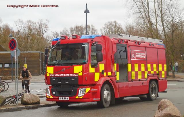 Volvo FL Firetruck R108 Copenhagen Fire brigade