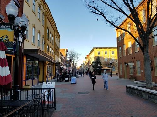 Winchester pedestrian mall