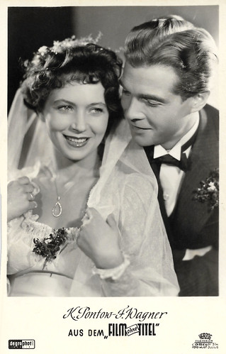 Fritz Wagner and Käte Pontow in Film ohne Titel (1948)