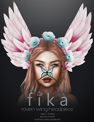 - Fika - ravenwing headpiece