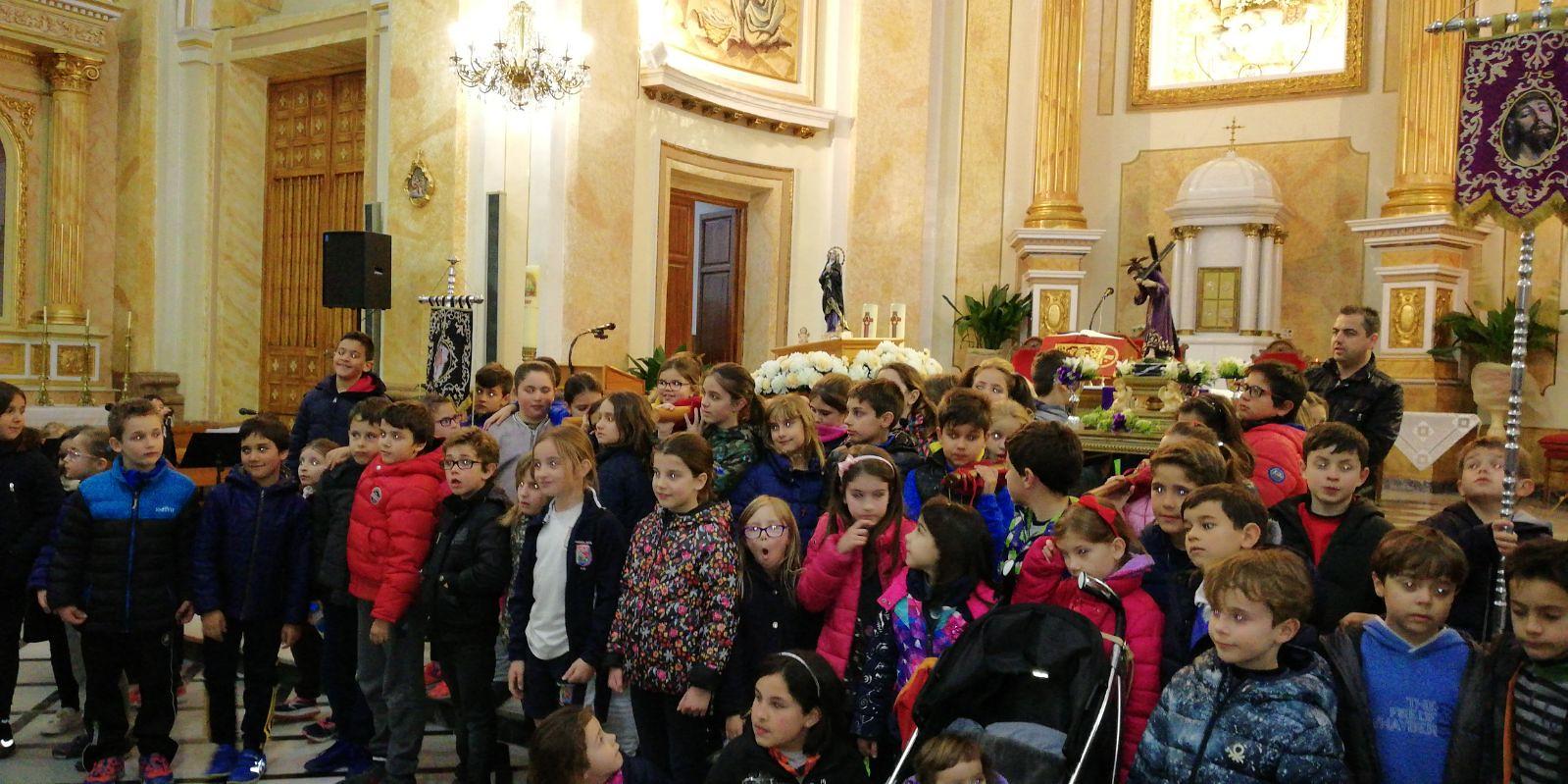 (2018-03-23) II Vía Crucis Infantil (Catequistas) (15)