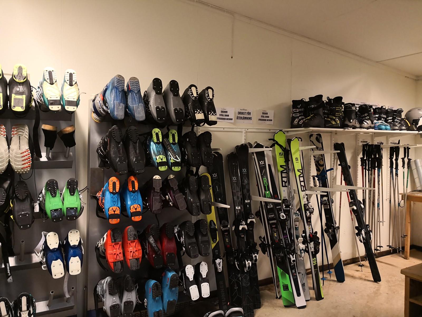 Ski and boots room