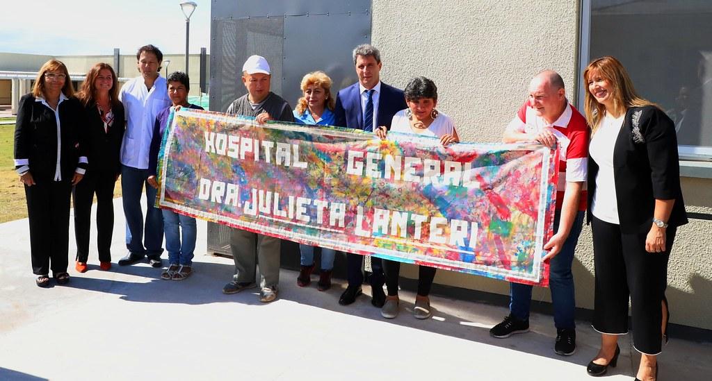 2019-03-15 PRENSA: Inauguración del Hospital General Dra Julieta Lanteri
