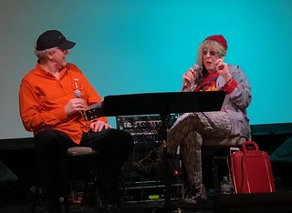 Allee Willis  alleewillis on  Charting Your Own Path in conversation with Michael Lehmann Boddicker at Synthplex 2019