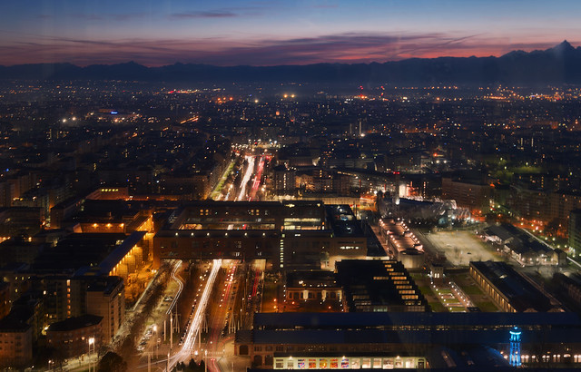 Torino di sera ...
