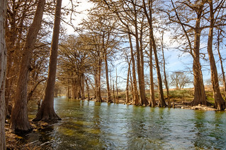 Guadalupe River, Rusty Bend Ranch, Comfort, TX