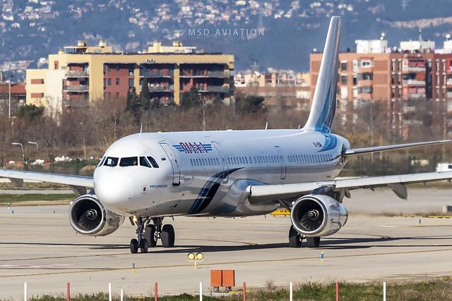 Airbus A321-231 VQ-BSM Ямал