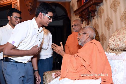 Std-10-11-12-visit-to-Haridham-for-Swamishree's-Blessings-(51) | by Atmiya Vidya Mandir