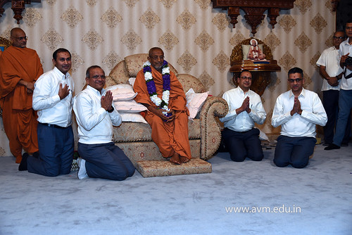 Std-10-11-12-visit-to-Haridham-for-Swamishree's-Blessings-(13) | by Atmiya Vidya Mandir