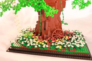 modern lego treehouse