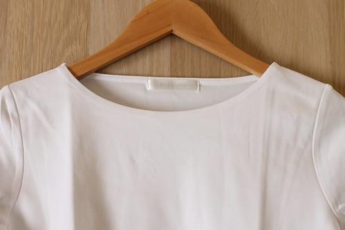 ドゥクラッセTシャツ 口コミ ボートネック 7分袖