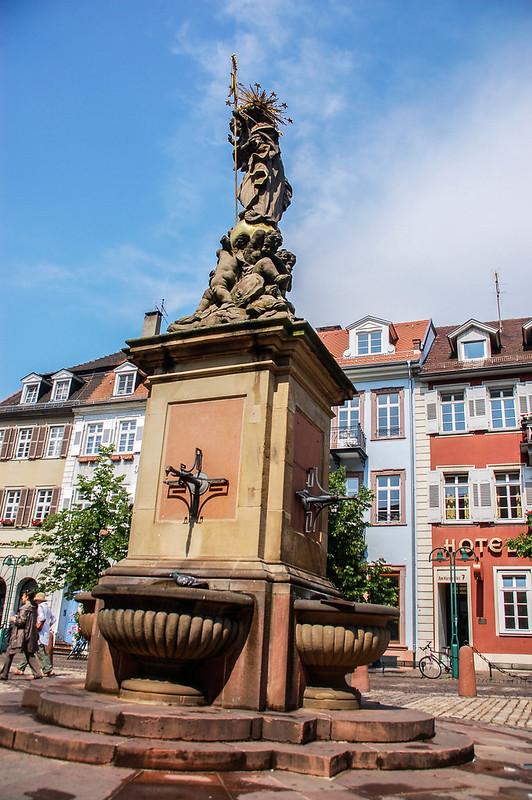 海德堡舊城區雕像 2
