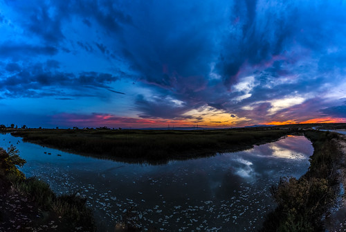 canon5dsr sunrise dawn bluehour clouds sky dramatic landscape water reflection outdoors nature usa california