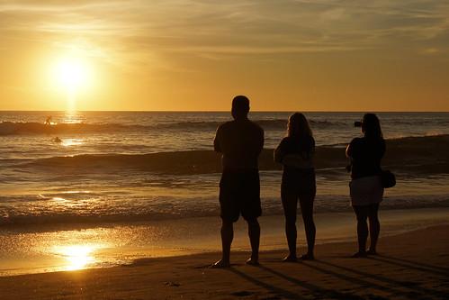 los angeles la united states us usa america american california ca huntington beach sunset ocean pacific surfs surfer surf sun down people observer