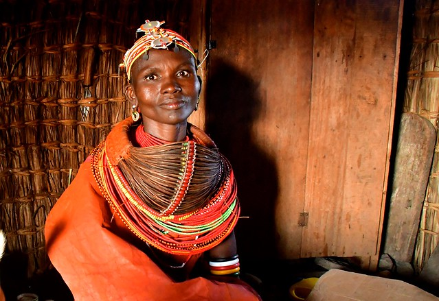 Kenya- Turkana region- Randille woman