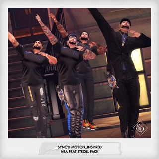 Sync'D Motion__Inspired - NBA Frat Stroll Pack | by Sync'd Motion
